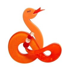 Erstwilder Jake The Snake Brooch