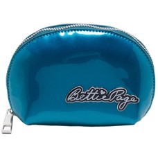 Sourpuss Bettie Page Makeup Bag Blue