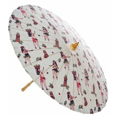 Sourpuss Hula Gals Parasol
