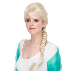 Lisa - Ice Queen, Blonde Braid