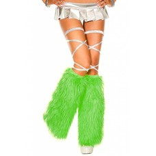 Faux Fur Kelly Green Fluffies