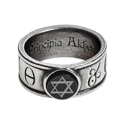 Alchemy England 1977 Principia Alchemystica Ring