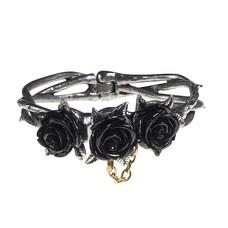 Alchemy England 1977 Wild Black Rose Bracelet