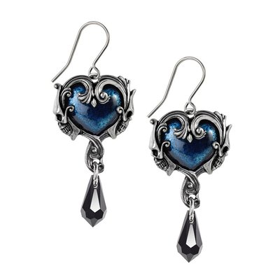 Alchemy England 1977 Affaire Du Coeur Earrings