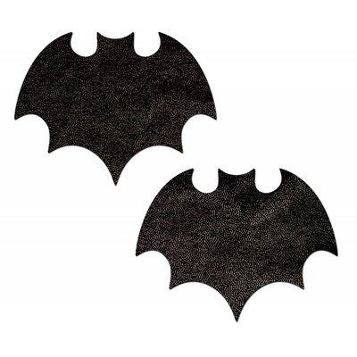 Pastease Vamp: Liquid Black Bat Nipple Pasties