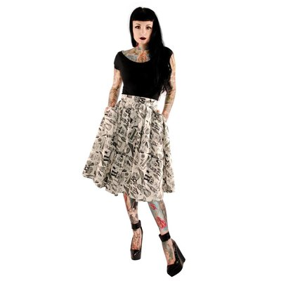 Retrolicious Objects Of Desire Skirt