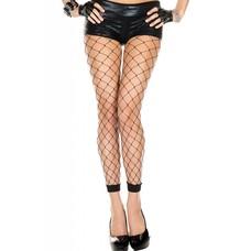 Music Legs Fence Net Leggings