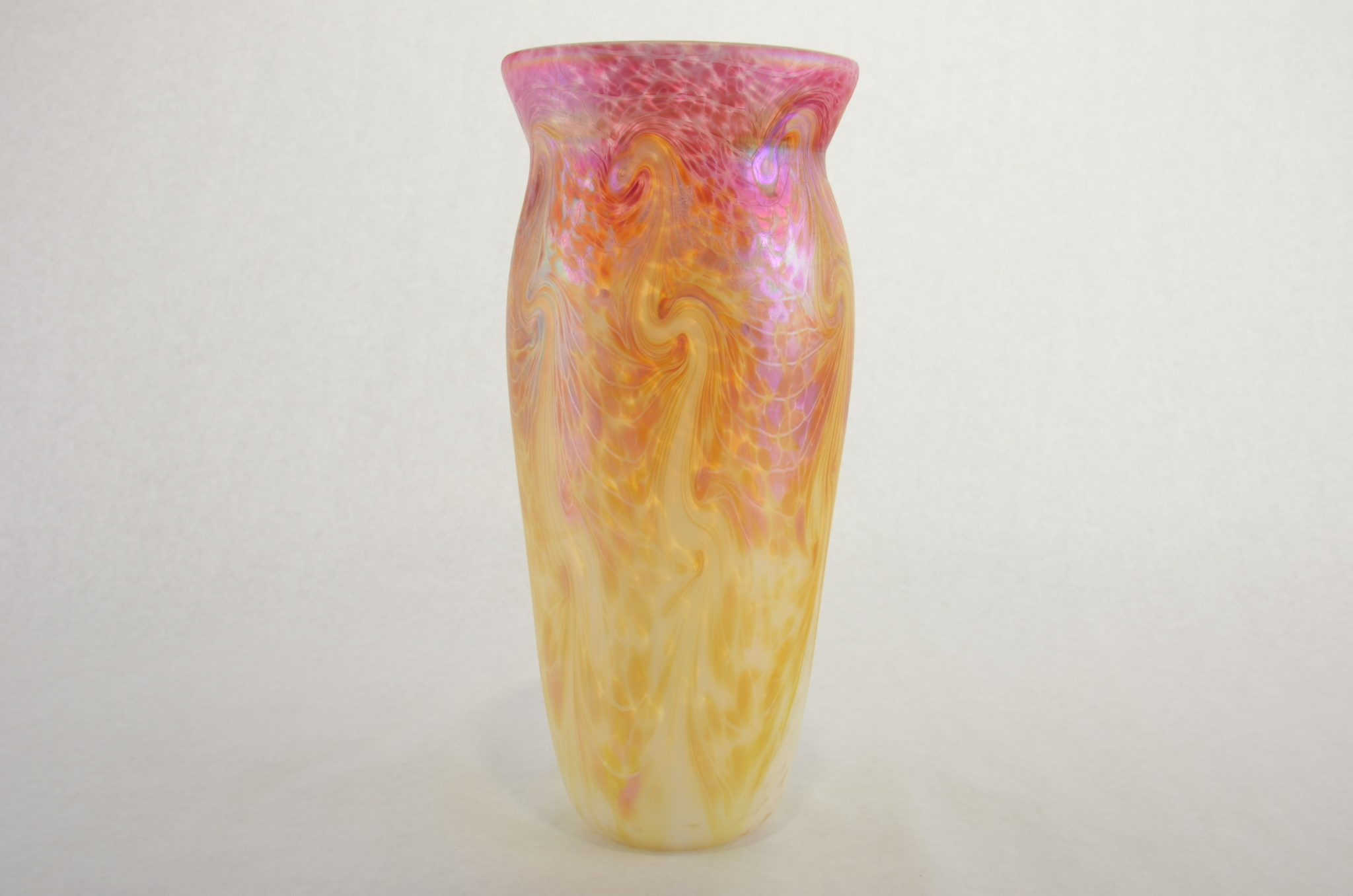 Eric Dandurand Ascension Vase, Gold & Pink, Eric Dandurand