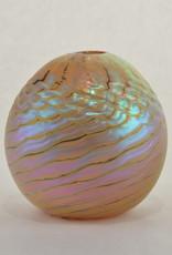 Eric Dandurand Gold Seafoam Vase