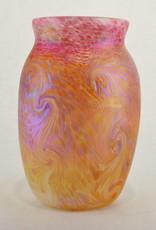 Eric Dandurand Ascension Vase, Pink & Gold, Eric Dandurand