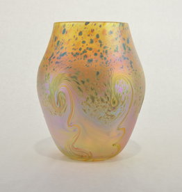 Eric Dandurand Ascension Vase Gold & Green