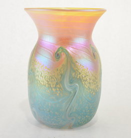 Eric Dandurand Blue & Gold Ascension Vase