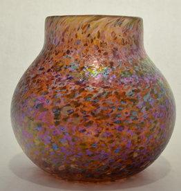 Eric Dandurand Amber Confetti Vase, Eric Dandurand