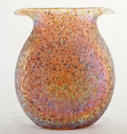 Eric Dandurand Amber Confetti Vase - Eric Dandurand