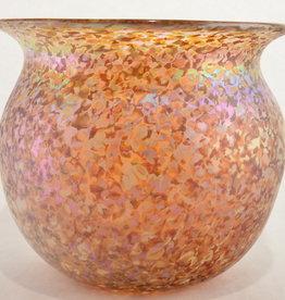 Eric Dandurand Amber Confetti Vase