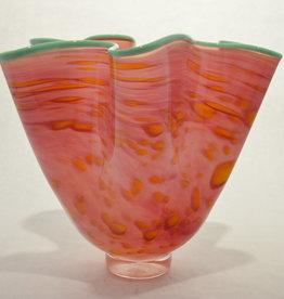 Eric Dandurand Furled Flora Ruffle Vase, Eric Dandurand