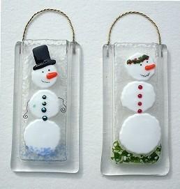 """Snowman Wall Vase 3"""" x 6"""""""