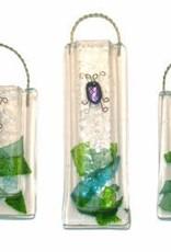 Dichroic Beetle Wall Vase