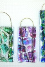 Sea Glass Wall Vase