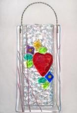 Victorian Heart Wall Vase