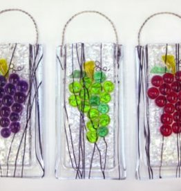 Grapes Wall Vase