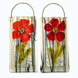 Poppy Wall Vase