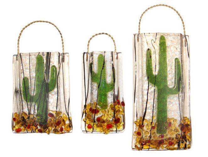 Cactus Wall Vase