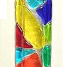 "Mosaic Wall Vase Multi 2"" x 6"""