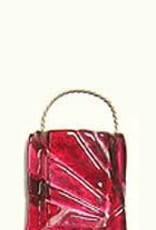 "Mosaic Wall Vase Red 2"" x 4"""