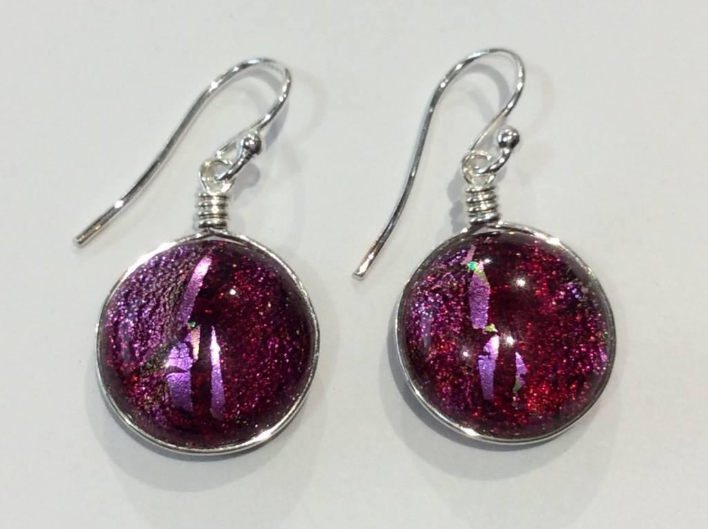 Venus Dichroic Earrings