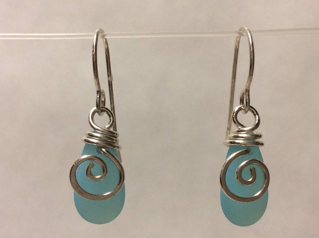 Mermaid Tear Earrings