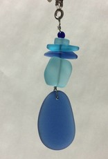 Seaglass Stone Fan Pull