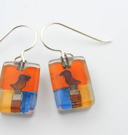 Santa Fe Bird Drop Earrings