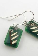 Leaf Drop Earrings (A)