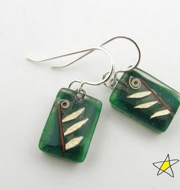 Leaf Drop Earrings (A)