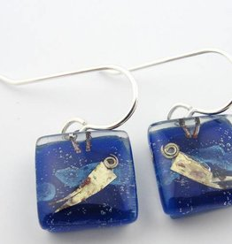 Afloat Square Earrings