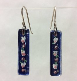 Cherry Blossoms Medium Bar Earrings