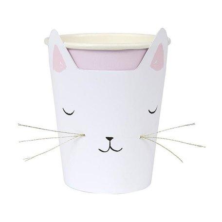 Meri Meri Cat with Whiskers Cups