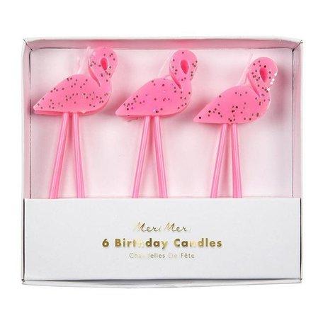 Meri Meri Flamingo Candles