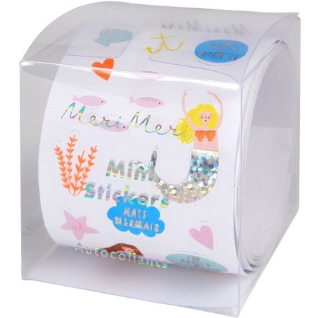 Meri Meri Mini Mermaid Sticker Roll
