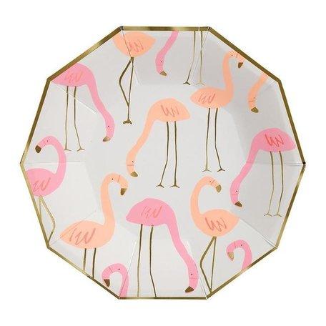 Meri Meri Flamingo Plates, Large