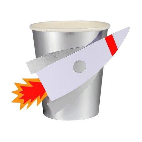 Meri Meri To the Moon Rocket Cups