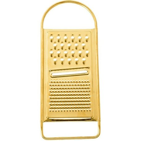 Gold Plated Stainless Steel Grater