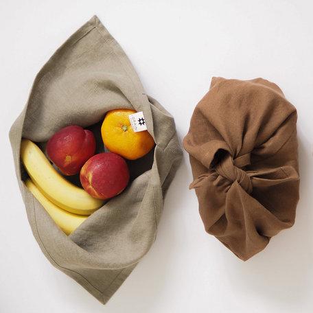 Grain Handmade Linen Bento Box