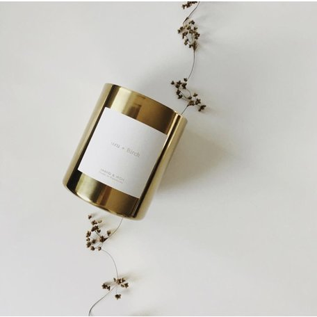 Brand & Iron Candle Goldie