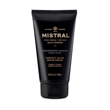 Mistral Men's Cedarwood Marine Shave Cream