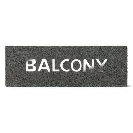 Abbott Urban Balcony Doormat 10x30""