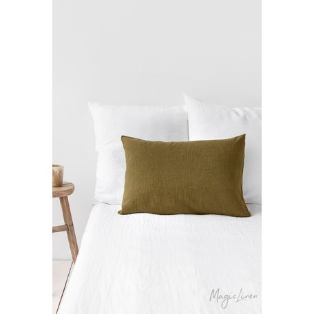 Linen Pillowcase, King