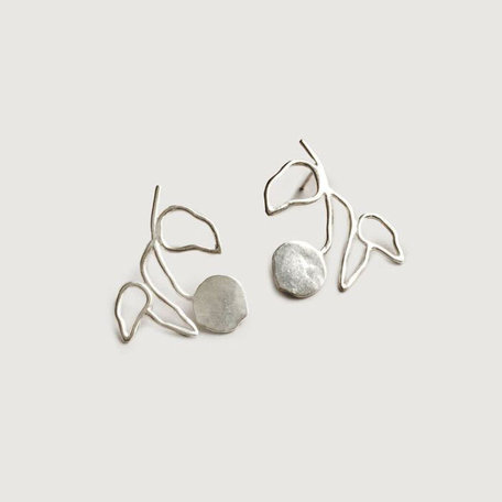 Wolf Circus Elsworth Earrings, Silver