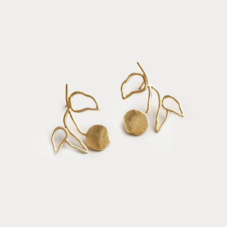 Wolf Circus Elsworth Earrings, Gold
